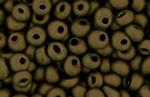 Toho Magatama Glass Seed Beads - Matte Dark Copper