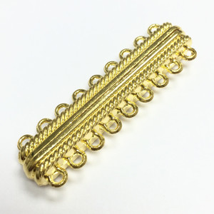 9 Ring Magnetic Clasp - Bright Gold