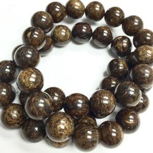 Bronzite Round Beads
