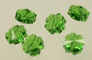 Swarovski Crystal Clover Bead - Fern