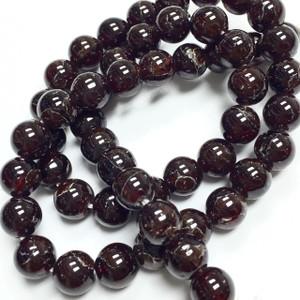 Garnet Round Beads 8mm