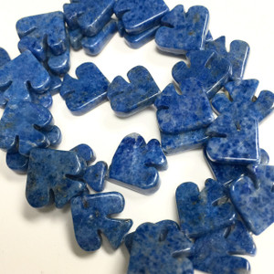 Lapis Spade Beads- AB- Grade-12mm