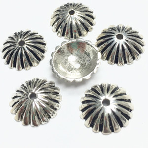 #7287 Sterling Silver Bead Caps