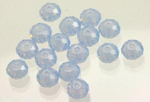 Swarovski Crystalized Beads Art # 5040 Air Blue Opal-6mm