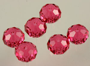 Swarovski Crystalized Beads Art # 5040 Indian Pink 8mm