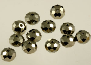 Swarovski Crystalized Beads Art # 5040 Metallic Light Gold x 2-8mm