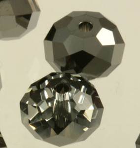 Swarovski Crystalized Beads Art # 5040-Crystal Silver Night-8mm-NEW COLOR