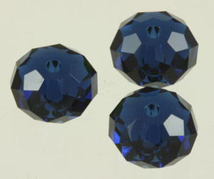 Swarovski Crystalized Beads Art #5040 Dark Indigo 8mm