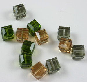 Swarovski Earring Mix-- Kelly's pick- 8mm cubes