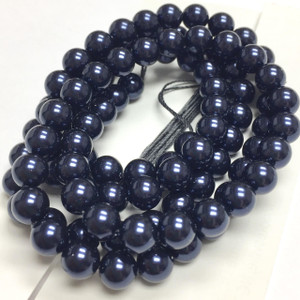 Swarovski Crystal Pearls Article #5810 Night Blue-6mm