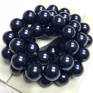 Swarovski Crystal Pearls Article #5810 Night Blue-8mm