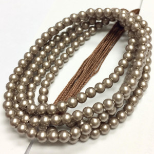 Swarovski Crystal Pearls Article #5810 Platinum-3mm