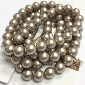 Swarovski Crystal Pearls Article #5810 Platinum-6mm