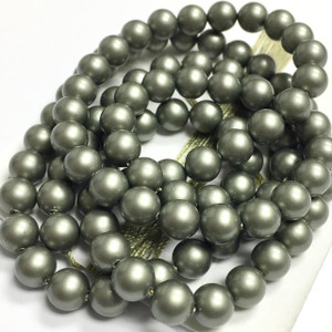 Swarovski Crystal Pearls Article #5810 Powder Green-6mm