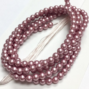 Swarovski Crystal Pearls Article #5810 Powder Rose-3mm