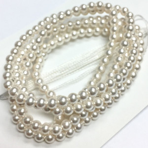Swarovski Crystal Pearls Article #5810 White-3mm