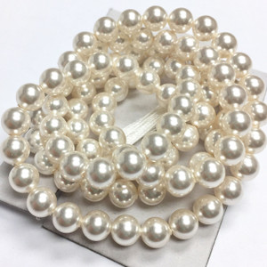 Swarovski Crystal Pearls Article #5810 White-6mm