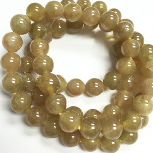 Golden Tourmaline Beads 7mm limited color