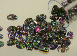 Twin Two-Holed Seed Beads - Magic Lilac