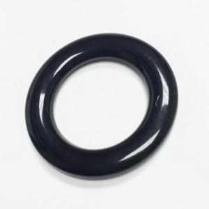 Vintage Bakelite Rings- Black