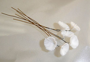 Vintage White Parasol Findings