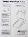 Treadmill User's Manual 207826