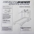Healthrider Treadmill User's Manual 240622