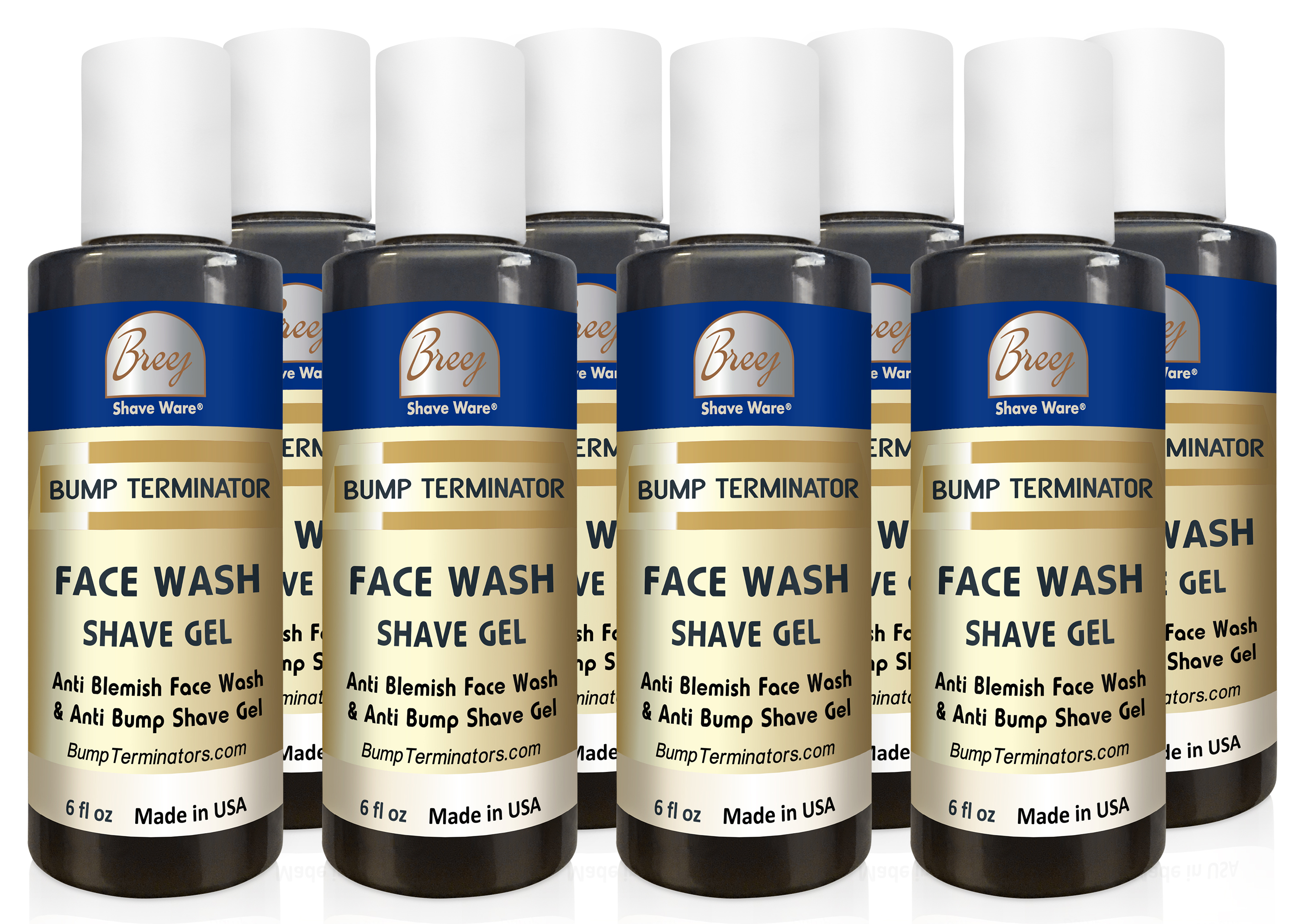BUMP TERMINATOR Face Wash and Shave Gel