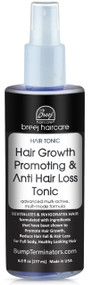 Hair Growth Promoting &   Anti Hair Loss Tonic     Advanced Multi-Active,  Multi-Mode Formula        REVITALIZES & INVIGORATES HAIR  formulated with ingredients  that have been shown to  Promote Hair Growth,  Reduce Hair Fall & Hair Loss  for Full body, Healthy Looking Hair
