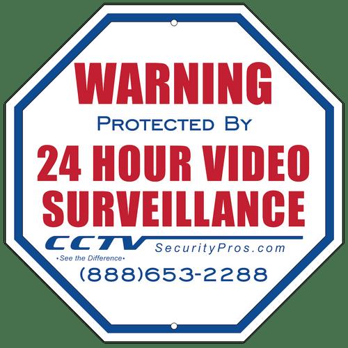 CCTV Warning Sign