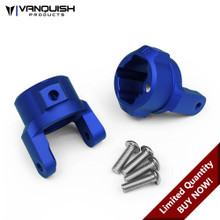 Axial SCX10 8 Degree C-Hubs Blue Anodized