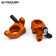 Axial Wraith Steering Knuckles Orange Anodized