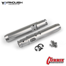 Currie XR10 Width Rear Tubes Clear Anodized