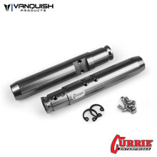 Currie XR10 Width Rear Tubes Grey Anodized