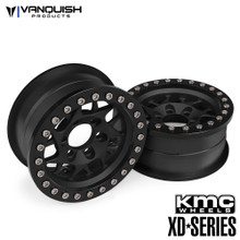 KMC 1.9 XD127 Bully Black Anodized