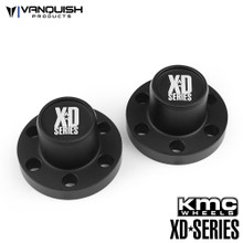 Center Hubs XD Series Black Anodized