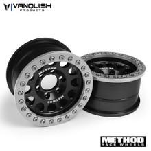 Method 1.9 Race Wheel 105 Black/Clear Anodized
