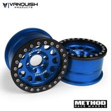 Method 1.9 Race Wheel 105 Blue/Black Anodized