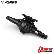 Currie RockJock XR10 Width Front Axle Black Anodized