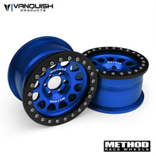 "Method 2.2 Race Wheel (1.2"" Wide) 105 Blue/Black Anodized"