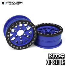 KMC 2.2 XD229 Machete Blue Anodized