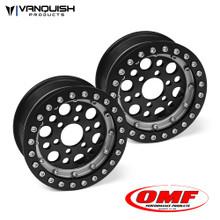 OMF 1.9 Outlaw II Wheel Set Black/Clear
