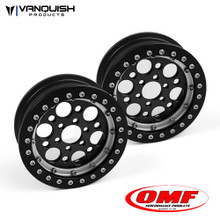 OMF 2.2 Outlaw II Wheel Set Black/Clear