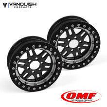 OMF 2.2 NXG1 Wheel Set Black/Clear