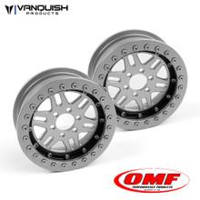 OMF 2.2 NXG1 Wheel Set Clear/Black