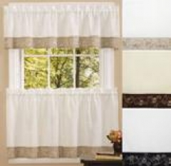 Superbe ... Oakwood Kitchen Curtains   3 Colors Available ...