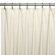 Extra Long Solid Shower Curtains Liners