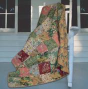 Antique Chic Throw Blanket