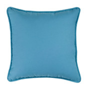 Brunswick - Square Throw Pillow - Ocean