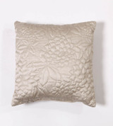 Gardenia Throw Pillow - Beige